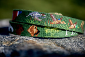 duck_bird_hunting_dog_belt_green