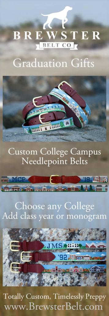 Graduation Gift Ideas Needlepoint Belt
