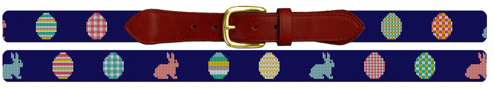 Easter Egg Needlepoint Easter Belt