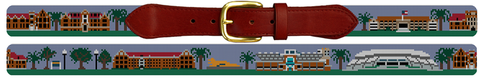 University of Florida Gators Needlepoint Belt