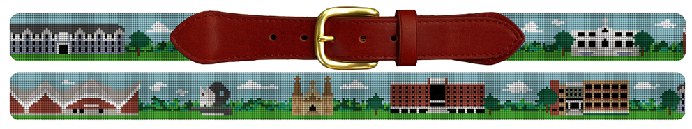 Villanova University Needlepoint Belt
