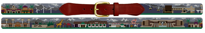 Palm Desert Needlepoint Belt Gift